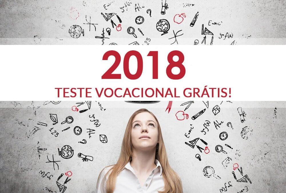 Teste Vocacional 2018 – Profissão garantida
