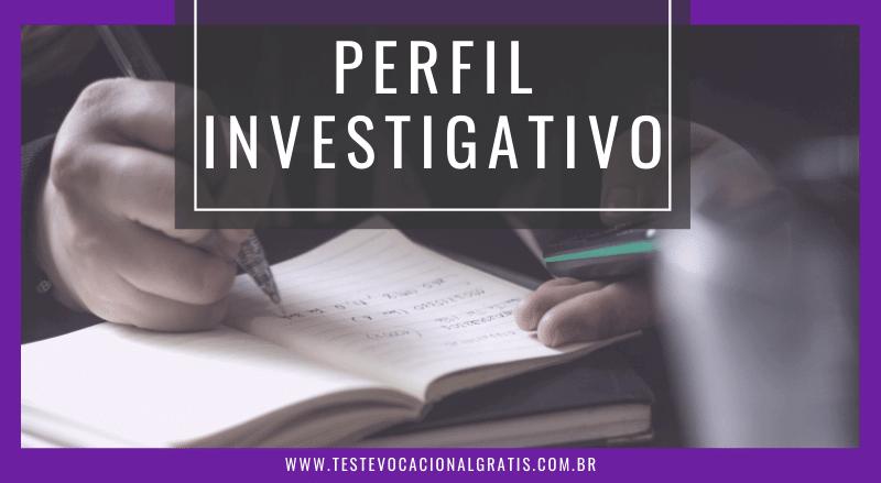 perfil investigativo